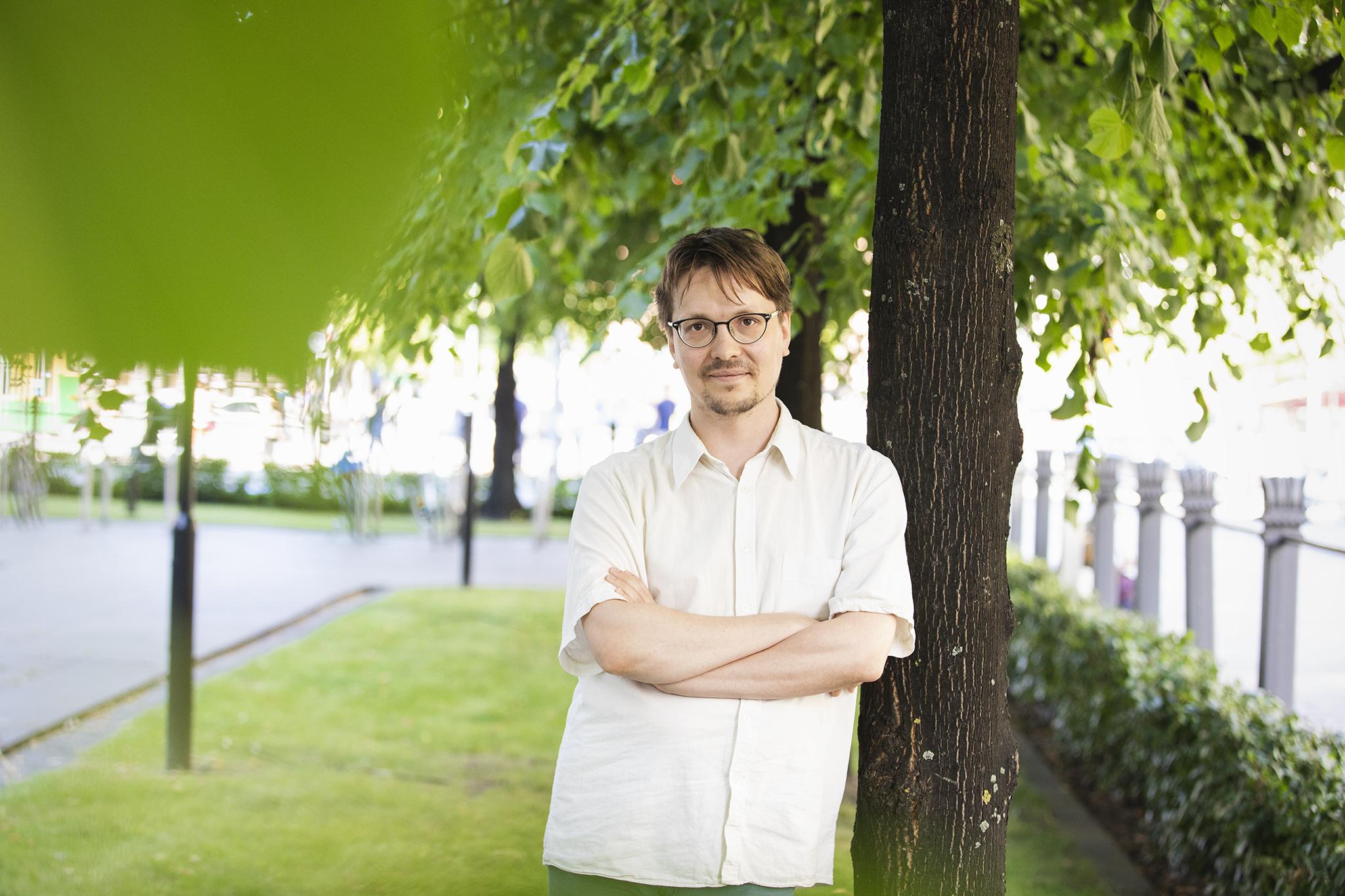 Kuvassa TAKUn puheenjohtaja Juha Isotalo