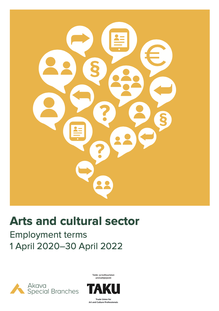 Employment Term Guiden for Arts and Culture Sector. TAKU ry