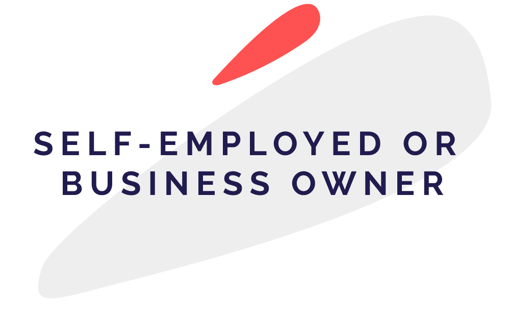 Icon: self-employed or business owner